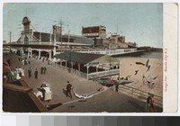 Young's Pier, Atlantic City, New Jersey, 1907-1913