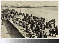 Boardwalk and Young's Pier, Atlantic City, New Jersey, 1907