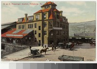 Baltimore and Ohio Passenger Station, Pittsburgh, Pennsylvania, 1907-1914