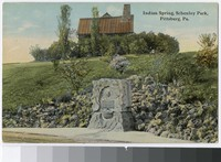 Indian Spring, Schenley Park, Pittsburgh, Pennsylvania, 1907-1911