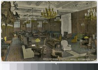 English Room, Fort Pitt Hotel, Pittsburgh, Pennsylvania, 1907-1914