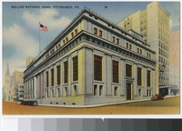 Mellon National Bank, Pittsburgh, Pennsylvania, 1930-1944