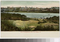 View of Susquehanna River and Pittston, Pennsylvania, 1901-1907