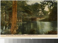 Cooley's Bridge from Cooper's Landing, Greenwood Lake, New Jersey, 1907-1914