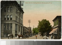 Main Street, looking south, Hackensack, New Jersey, 1907-1910