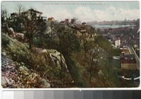 View along the heights, West Hoboken, New Jersey, 1907-1914