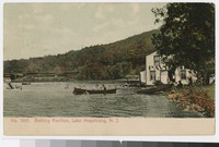 Bathing pavilion, Lake Hopatcong, New Jersey, 1907-1914