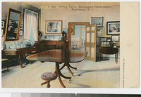 Dining room, Washington's Headquarters, Morristown, New Jersey, 1901-1907