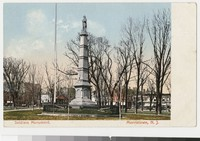Soldiers Monument, Morristown, New Jersey, 1901-1907