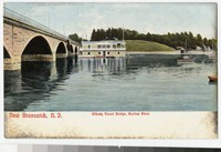 Albany Street Bridge, Raritan River, New Brunswick, New Jersey, 1901-1907