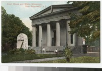Courthouse and U.S.S. Maine Monument, New Brunswick, New Jersey, 1901-1907