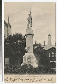 Soldiers Monument, New Brunswick, New Jersey, 1901-1907
