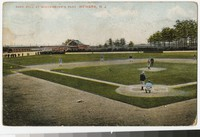 Baseball at Wiedemayer's Park, Newark, New Jersey, 1907-1908