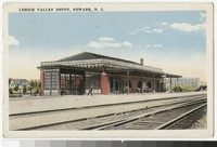 Lehigh Valley Depot, Newark, New Jersey, 1915-1922