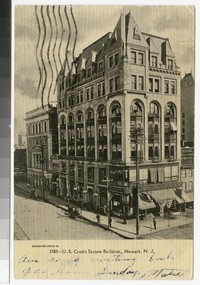 U.S. Credit System Building, Newark, New Jersey, 1901-1907