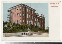 German Hospital, Newark, New Jersey, 1915-1930