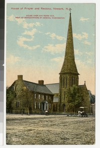 House of Prayer and Rectory, Newark, New Jersey, 1907-1914