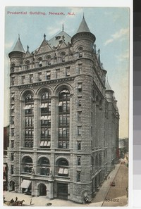 Prudential Insurance Company of America Building, Newark, New Jersey, 1907-1911