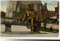 Lincoln Statue, Newark, New Jersey, 1907-1914
