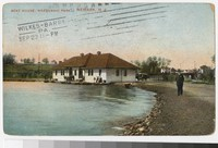 Boat house, Weequahic Park, Newark, New Jersey, 1907