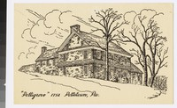 Artist's depiction of Pottsgrove, Pottstown, Pennsylvania, 1907-1914