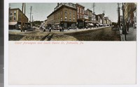 East Norwegian and South Centre Streets, Pottsville, Pennsylvania, 1901-1906