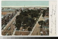 Military Park and Broad Street, Newark, New Jersey, 1901-1906