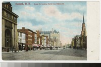 Broad Street looking north from William Street, Newark, New Jersey, 1901-1906