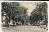 Roseville Avenue, north of Seventh Avenue, Newark, New Jersey, 1907-1908