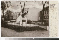 Cannon, Military Park, Newark, New Jersey, 1901-1905