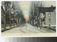 Lincoln Avenue, looking north, Tyrone, Pennsylvania, 1907-1914