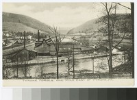 Tyrone Forges, one mile east of Tyrone, Pennsylvania, 1907-1914