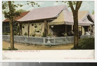 Tent dwelling, Ocean Grove, New Jersey, 1901-1906