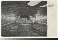 Auditorium interior, Ocean Grove, New Jersey, 1901-1906