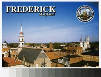 Clustered spires of Frederick, Maryland, circa 1980-2000