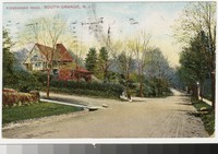 Ridgewood Road, South Orange, New Jersey, 1907-1909