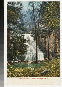 Hemlock Falls, South Orange, New Jersey, 1901-1906