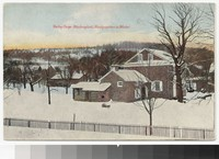 Washington's Headquarters in winter, Valley Forge, Pennsylvania, 1907-1914