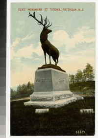 Elks' Monument at Totowa, Paterson, New Jersey, 1907-1914