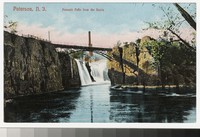 Passaic Falls from the basin, Paterson, New Jersey, 1901-1906