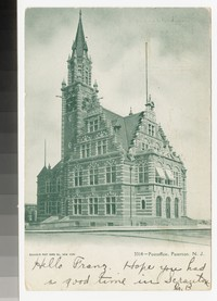 Post office, Paterson, New Jersey, 1901-1906