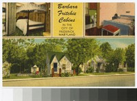 Barbara Fritchie Cabins, Frederick, Maryland, circa 1930-1944
