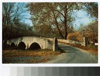 Burnside Bridge, Antietam Battlefield, Sharpsburg, Maryland, circa 1951-1969