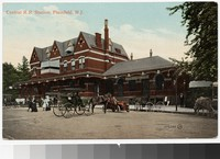 Central Railroad Station, Plainfield, New Jersey, 1907-1908