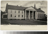 Old Washington College, Washington, Pennsylvania, 1901-1907