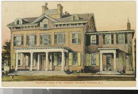 President Grover Cleveland's home, Westland Mansion, Princeton, New Jersey, 1907-1908