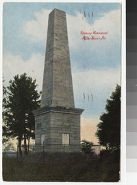 Wyoming Monument, Wilkes-Barre, Pennsylvania, 1907-1910