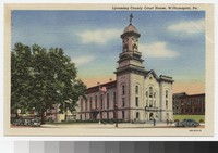 Lycoming County Courthouse, Williamsport, Pennsylvania, 1930-1945