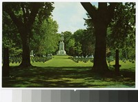 Antietam National Cemetery, Sharpsburg, Maryland, circa 1940-1970