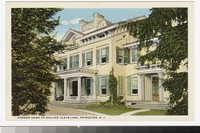 Former home of Grover Cleveland, Princeton, New Jersey, 1915-1930